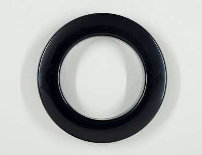 CurtainEyelet Black 55/80mm