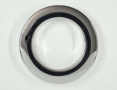 CurtainEyelet Chrome 55/80 mm