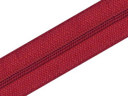 Nylon Zipper Long Chain Red